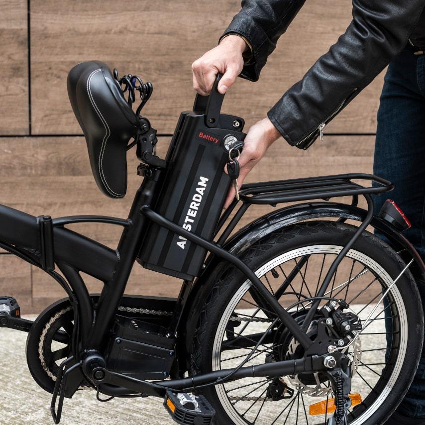 Cómo cargar una batería de bicicleta eléctrica