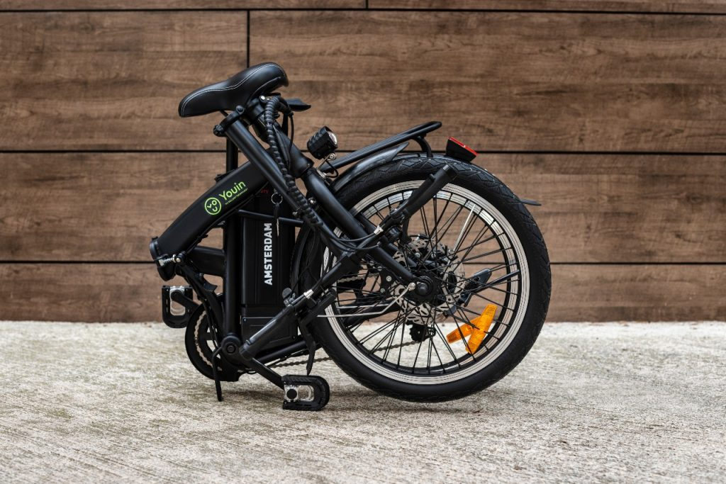 Bicicleta eléctrica You-Ride Amsterdam plegable en 3 partes