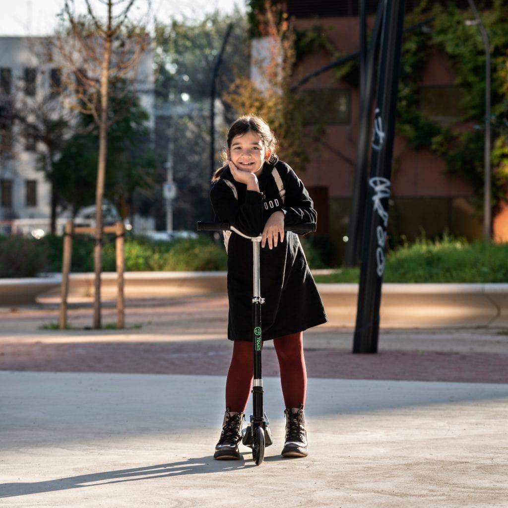 el patinete ideal para los más pequeños, You-Go S de Youin.
