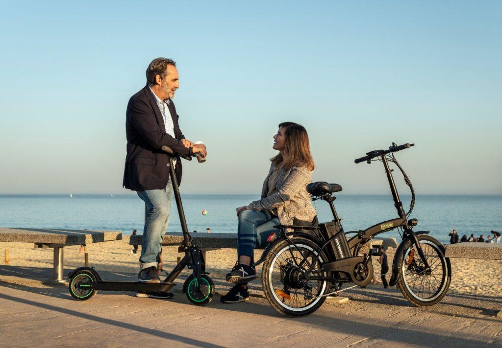 Patinete eléctrico You-Go L y ebike You-Ride Amsterdam, el dúo más urbano de Youin.