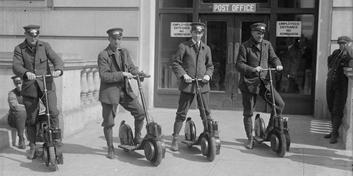 ¿Quién inventó el patinete eléctrico?