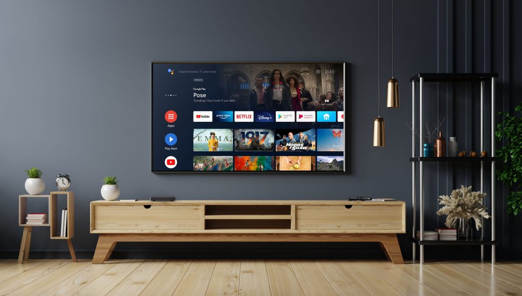 el set-top box de Youin tiene acceso directo a Youtube, Netflix, Prime Vídeo y Google Play.
