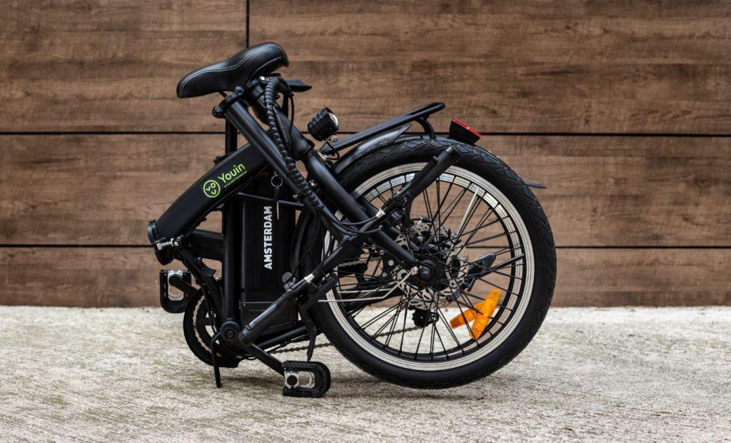 Bicicleta eléctrica plegable You-Ride Amsterdam de Youin